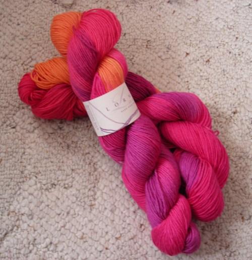 Lorna's Laces Shepherd Sock, bittersweet